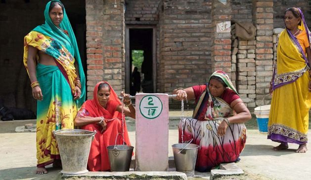 Handpumps, participatory rural appraisals, wadi programmes, and so on, all came from an innovation or technology developed by civil society | Picture courtesy: Aga Khan Rural Support Programme (India)