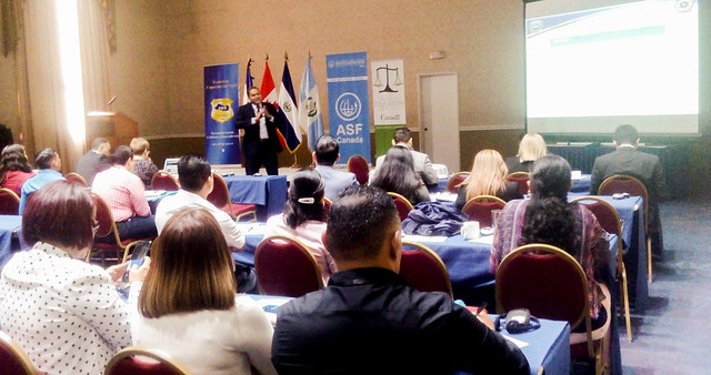 Prosecutors, police officers, government officials, experts and representatives of social organisations from Central America are participating in a special seminar on human trafficking Nov. 4-8 to identify and coordinate joint efforts. Credit: Edgardo Ayala/IPS