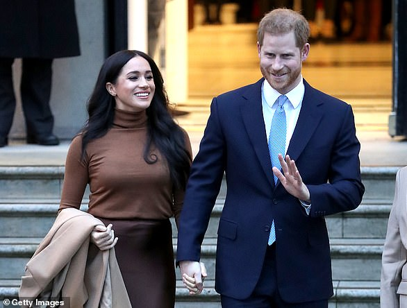 The website, sussexroyal.com, details the Duke and Duchess of Sussex's 'new working model'