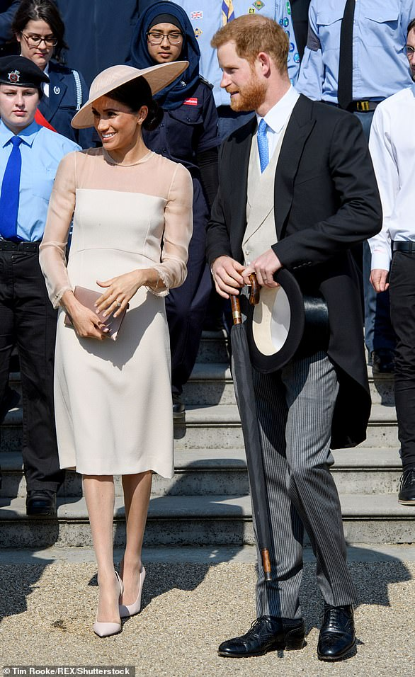 The Duke and Duchess attended the Prince of Wales' 70th Birthday Patronage Celebration at Buckingham Palace in London on 22 May 2018, which was their first official engagement following their wedding