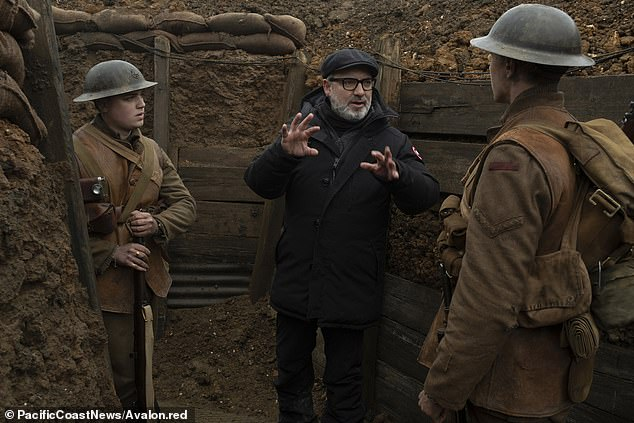 Divisive: He had sparked a race row by claiming the inclusion of a turban-wearing soldier in Sam Mendes film 1917 was 'incongruous'
