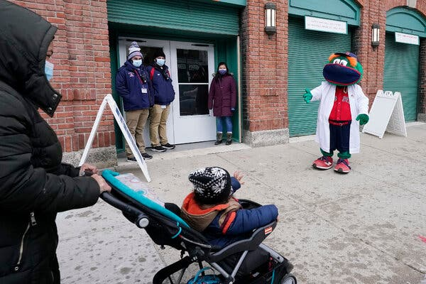 Fenway Park will be allowed to reopen at 12 percent capacity starting March 22.